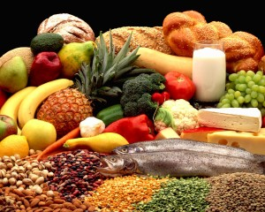 Components of a healthy diet.
